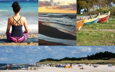 Joga, słońce, plaża…